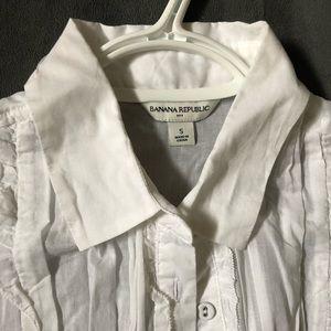 Banana Republic Tops - Banana Republic cotton blouse